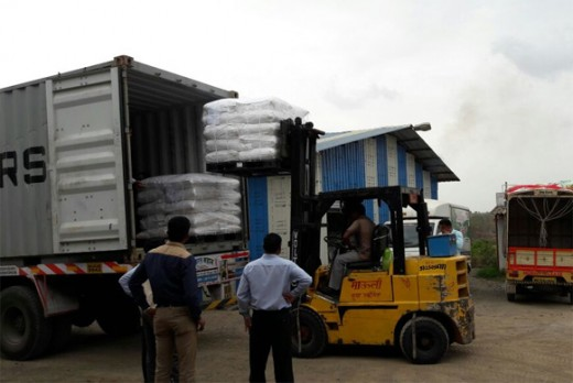 AGRI SEARCH EXPORTS MATERIAL TO KENIA